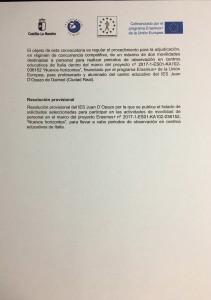 Resolución Prov.Erasmus+ NH-profes
